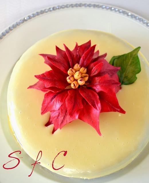 Βασιλόπιτα – Υγρό κέικ λευκής σοκολάτας