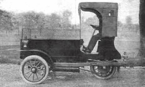 Wagenhals 1910 for Walter motor truck company