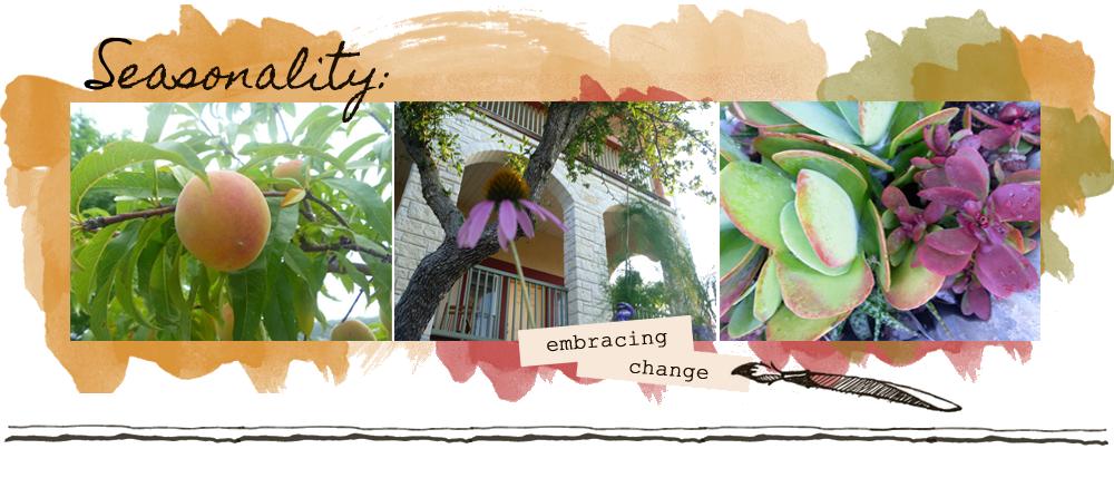 SEASONALITY: Embracing Change