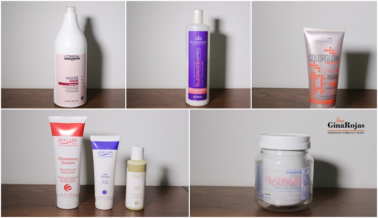 Productos favoritos del cabello