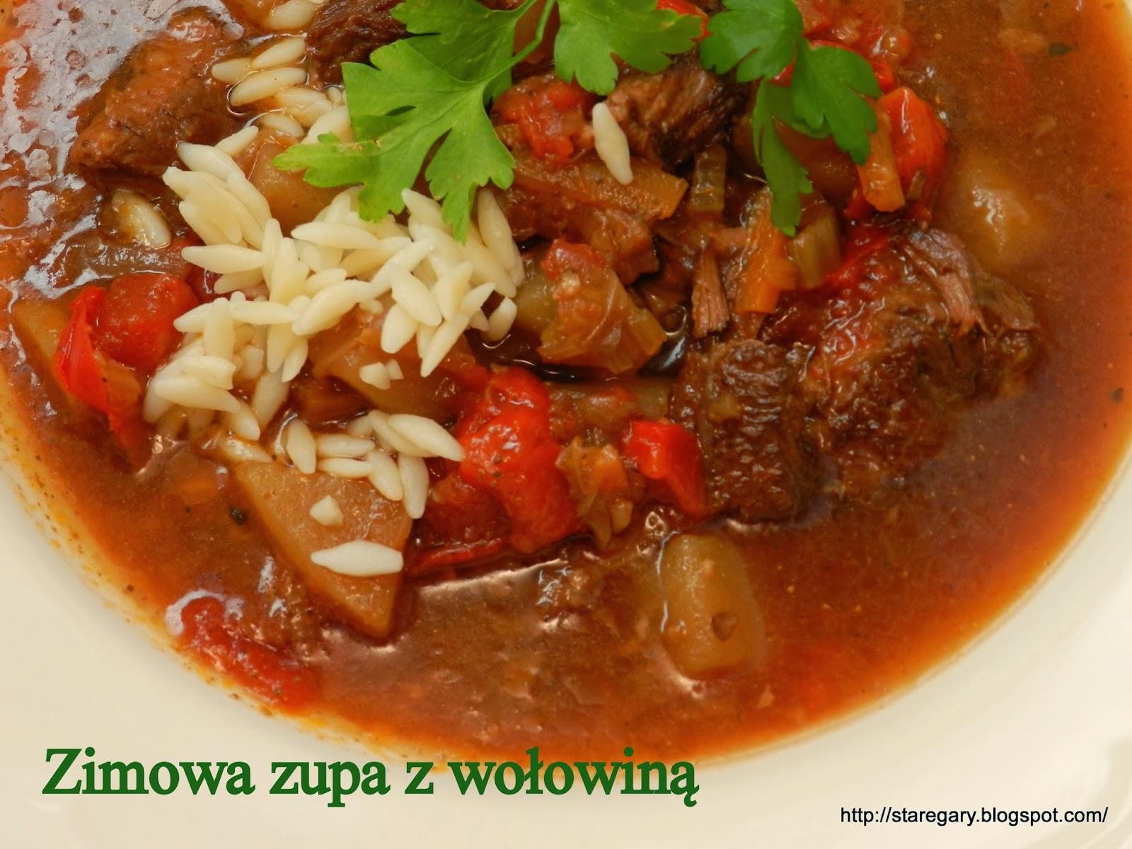 Zimowa zupa z wołowiną