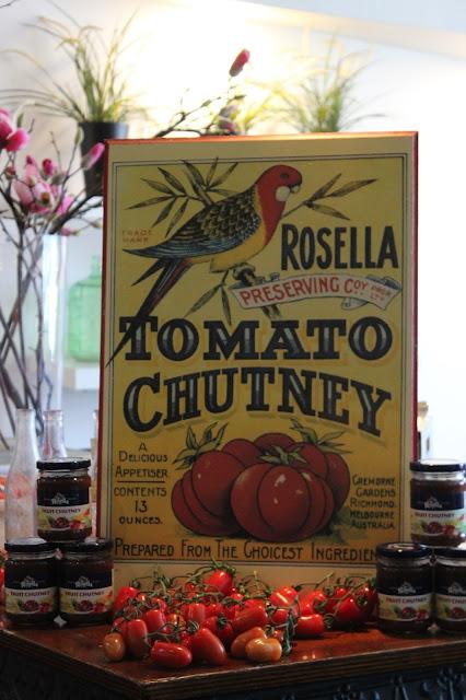 Rosella, 120th birthday, tomato sauce