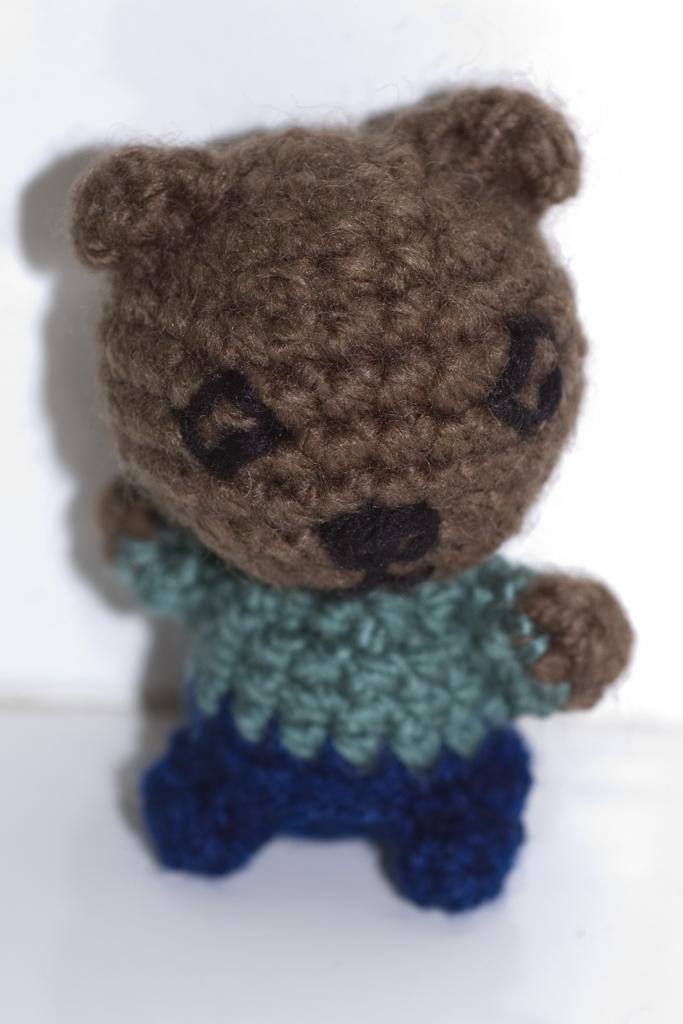 Teenage Mutant Ninja Turtles Crochet Dolls Pattern : 2000 Free Amigurumi Patterns: Scrap Teddy Free Amigurumi ...