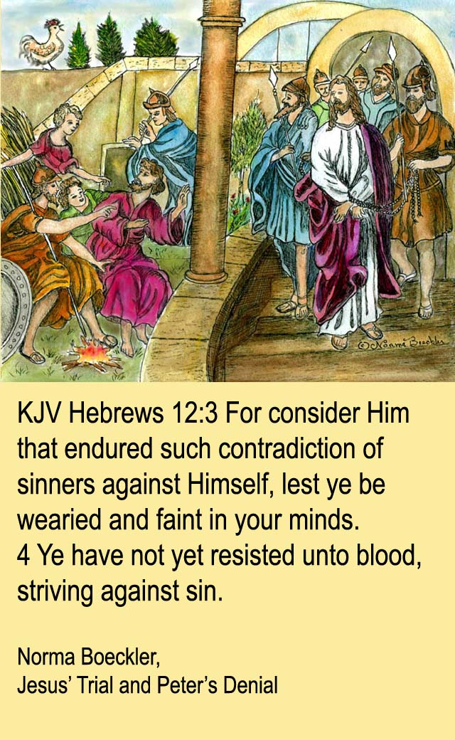 Sermon on Hebrews 12 1 3 http://ichabodthegloryhasdeparted.blogspot.com/2012/06/hebrews-12.html