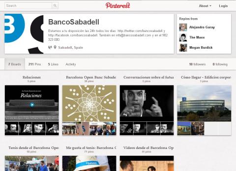 Banco Sabadell sur Pinterest
