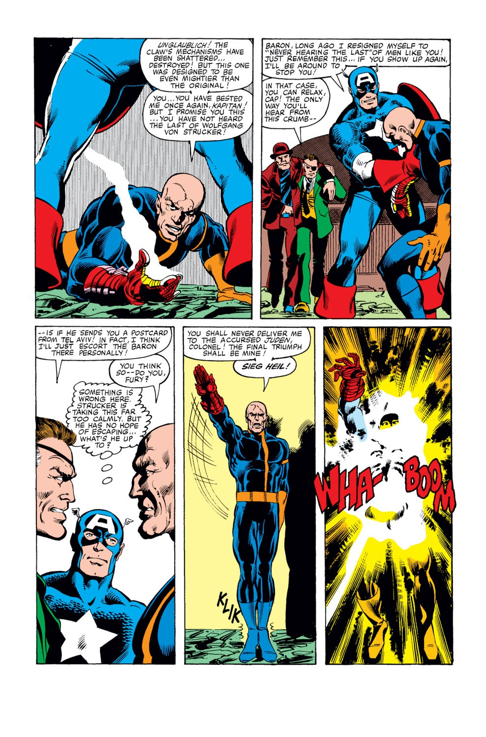 Captain America (1968) Issue #247 #162 - English 17