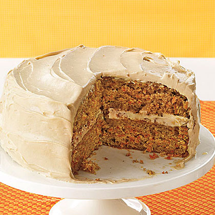 Thyme Square Herb Farm Gourmet Corner: Classic Carrot Layer Cake