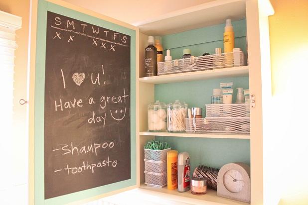 Unique DIY Bathroom Cabinet With Mirror  Craft