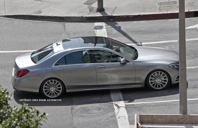 фото нового Mercedes-Benz S Класса 2014 года
