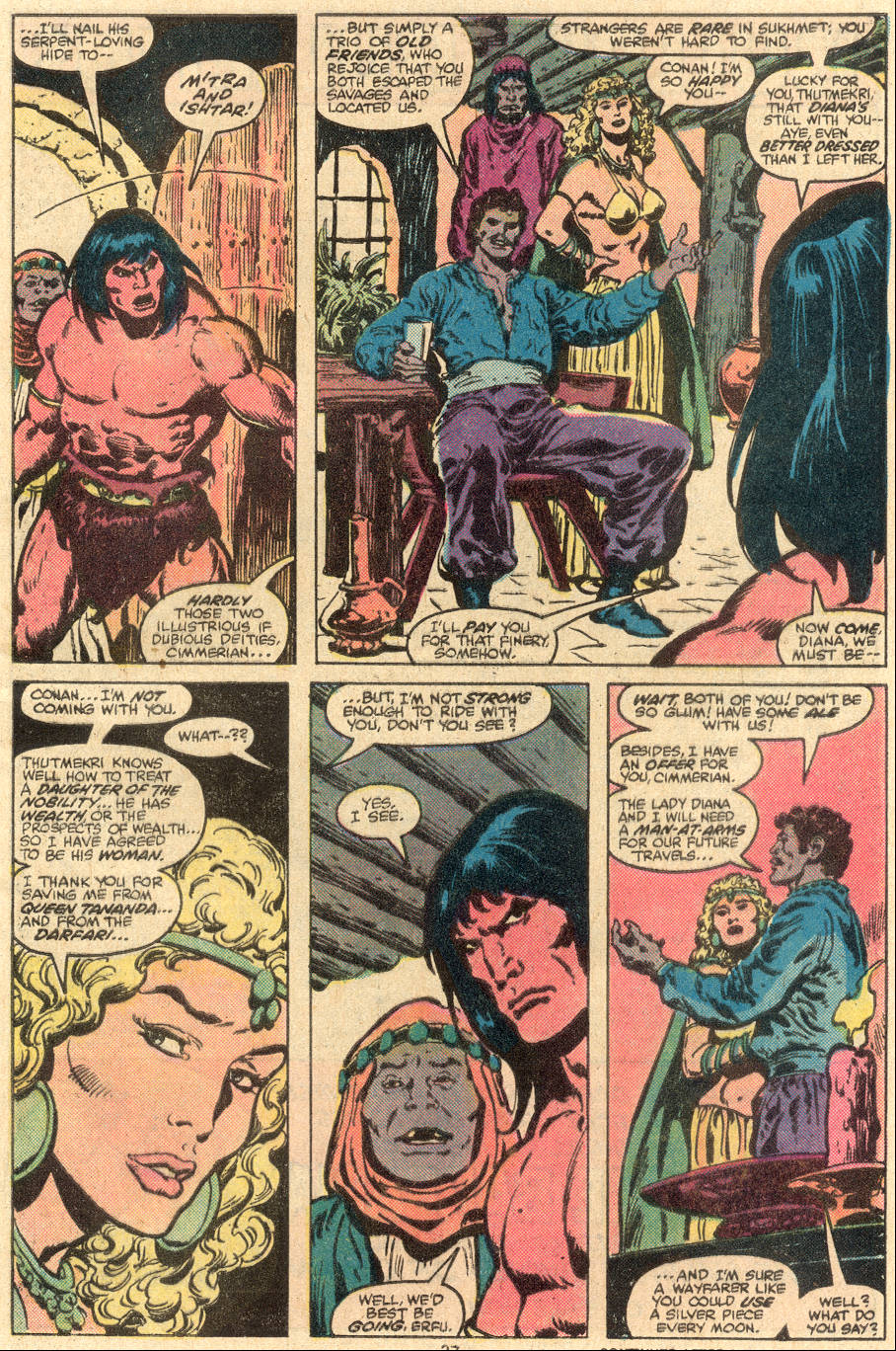 Conan the Barbarian (1970) Issue #108 #120 - English 18