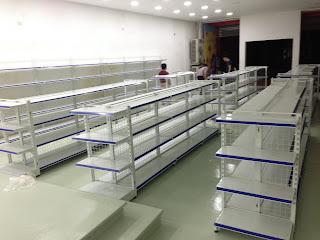 kệ siêu thị bán hàng tại Nghệ An
