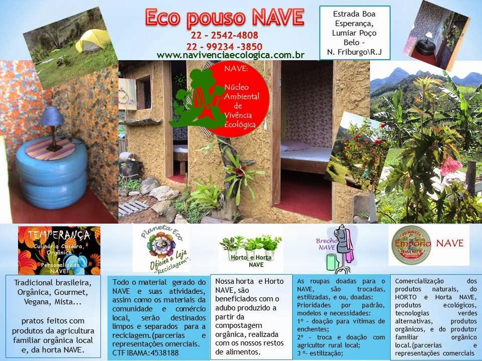 Eco Pouso para sustentabilidade dos projetos...