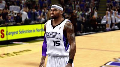 NBA 2K13 DeMarcus Cousins Player Update