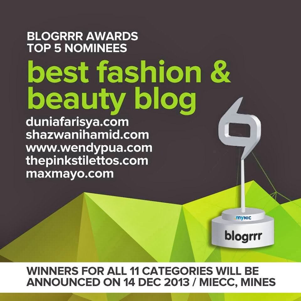 Top 5 Nominees Best Fashion & Beauty Blog