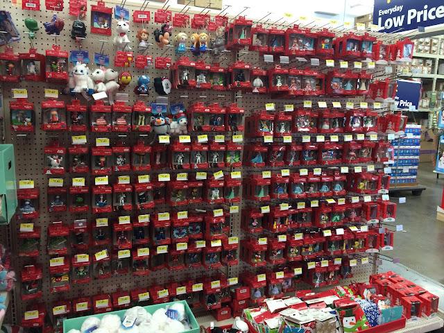 Hallmark Ornaments at Walmart | Making it Milk-free | www.makingitmilkfree.com