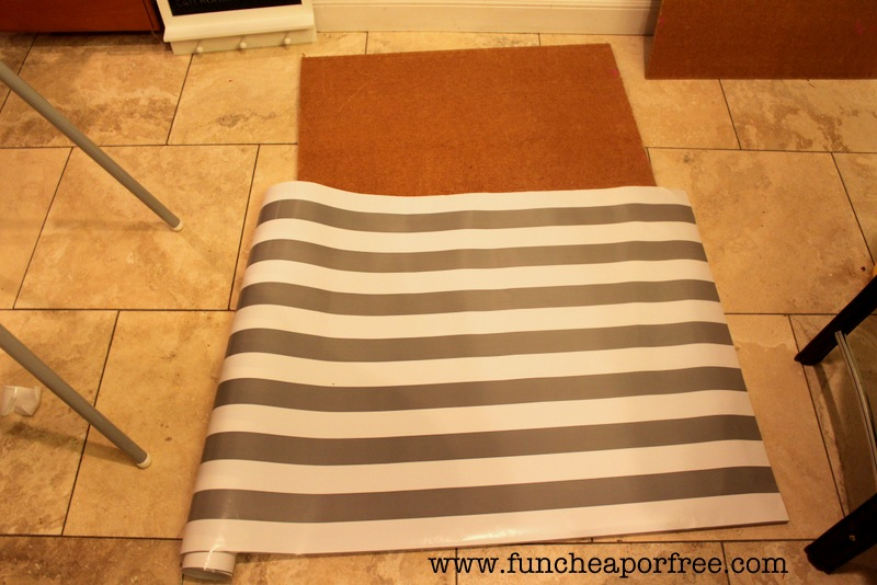 The bulletin board of all bulletin boards...DIY for less than $13 ...