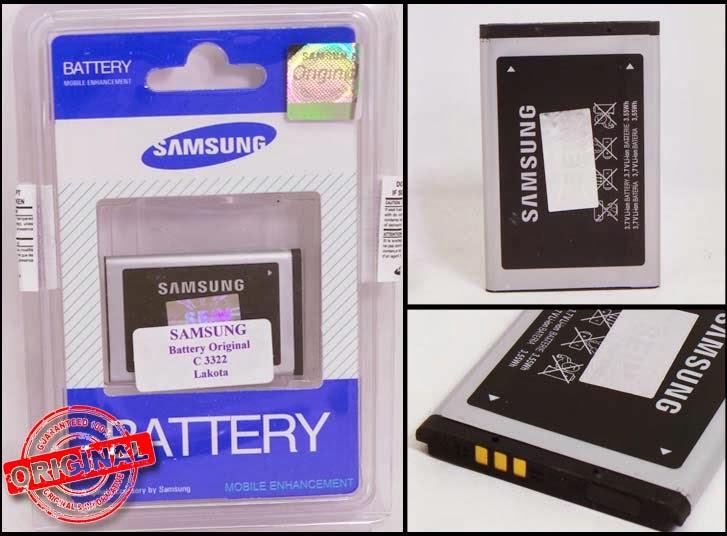 Baterai Original Samsung C3322 (Lakota)