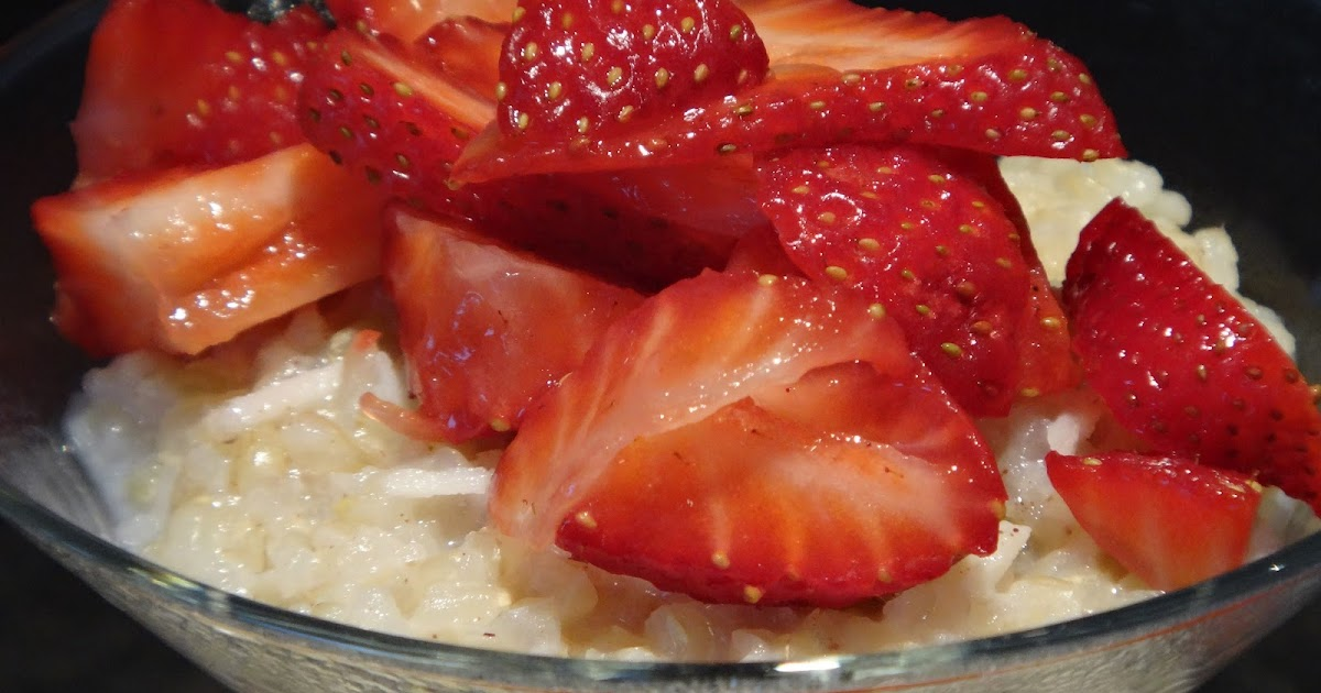 want to cook that: Leftover 5 Minute Rice Pudding