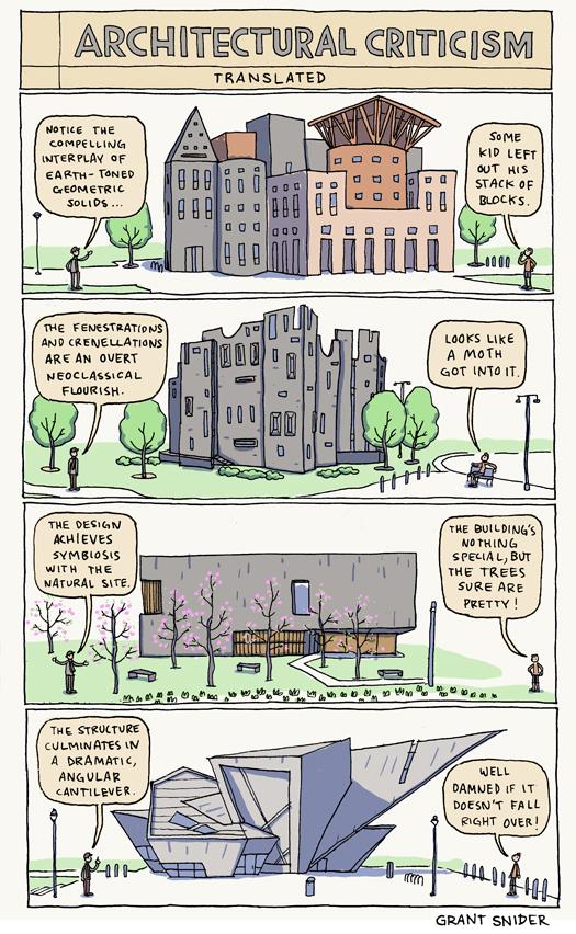 incidental comics architectural criticism translated