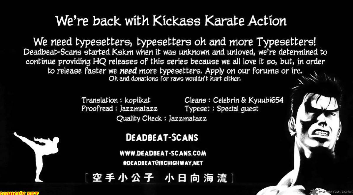 Karate Shoukoushi Kohinata Minoru chap 43 Trang 23