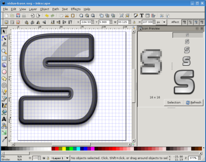 design your own banner with inkscape