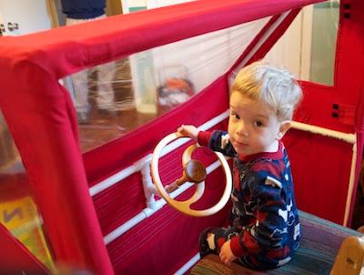 Ashbee Design: Fire Engine Toddler Bed • DIY