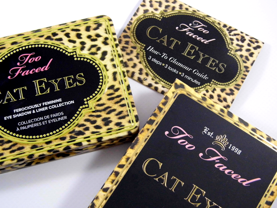 Cat Eyes Eye Shadow & Liner Collection Too Faced By Khimma