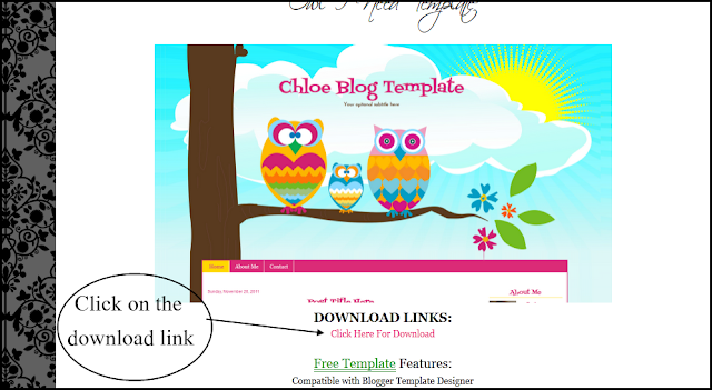 How To Upload Premade Blogger Templates
