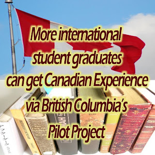 More international students will be allowed under the Post-Graduation Permit Program