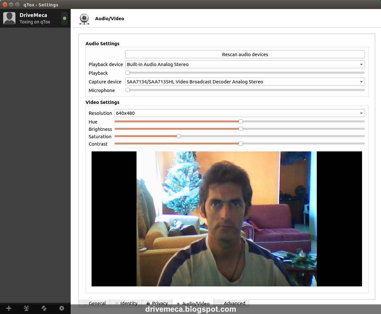 DriveMeca instalando Tox en Ubuntu Linux paso a paso