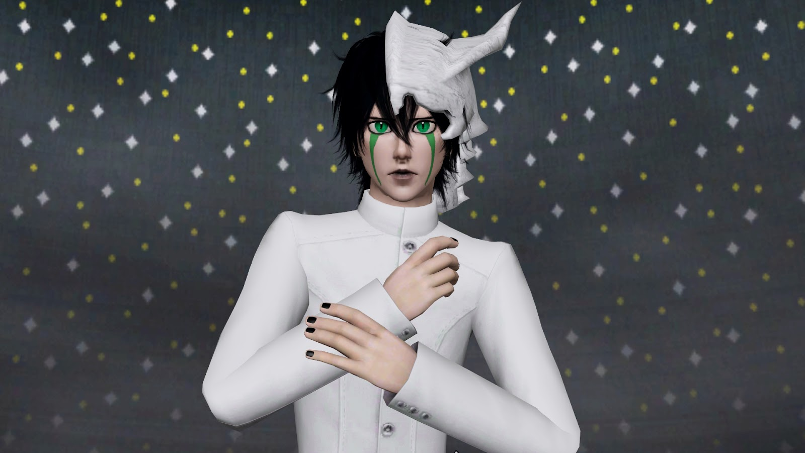 Sims 4 Anime Characters : Ng sims ulquiorra schiffer anime