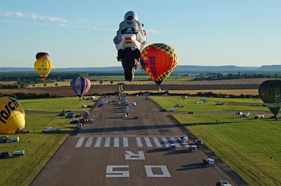 Motorbike Special Shape Balloon