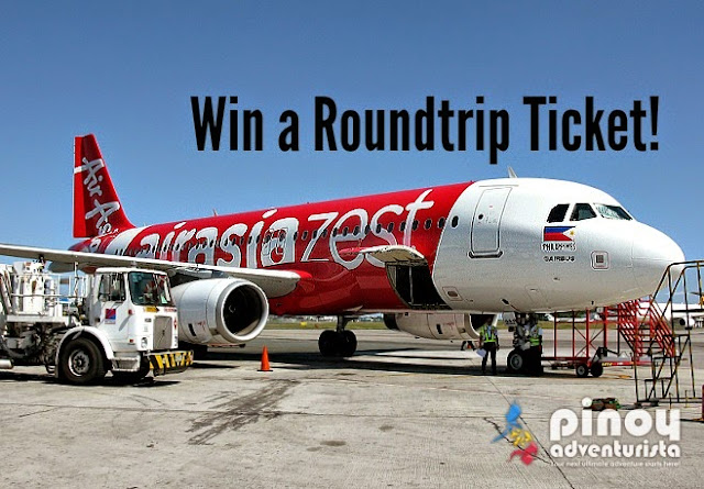 Win a Roundtrip Ticket from AirAsia Zest and Pinoy Adventurista