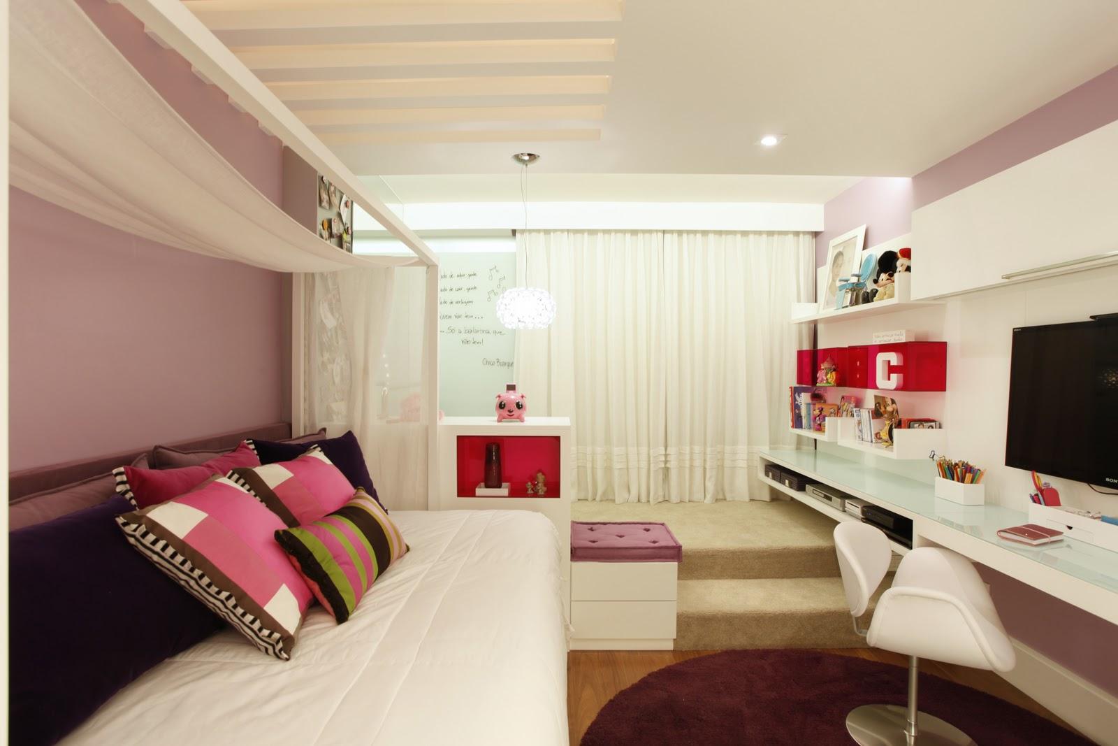 Marcela Sert u00e3 e Juliana Giusti Design de Interiores SU u00cdTE MENINA~ Dormitorio Ufrj