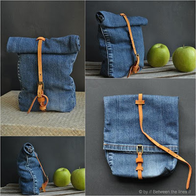 Cool Ways To Reuse Old Denim (30) 7