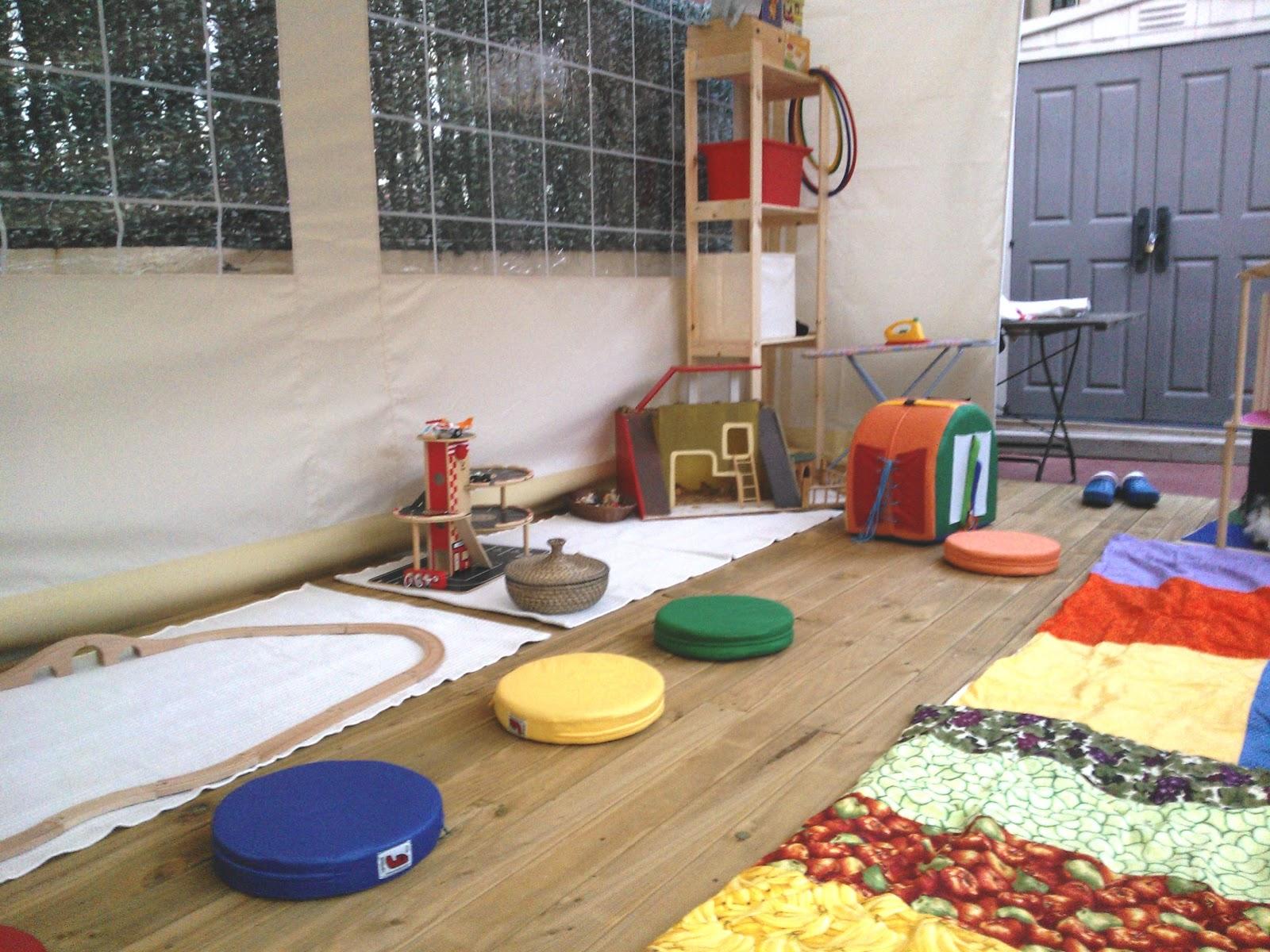 creciendo juntos espacio infantil barcelona zona exterior