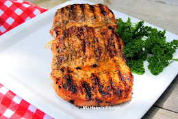 Grilled Herb Pork Chops