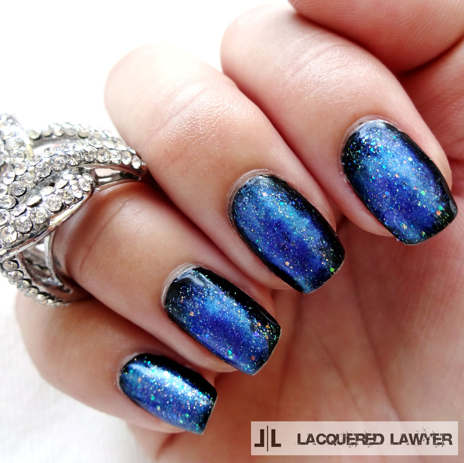 Lacquered Lawyer | Nail Art Blog: In A Galaxy Far Far Away