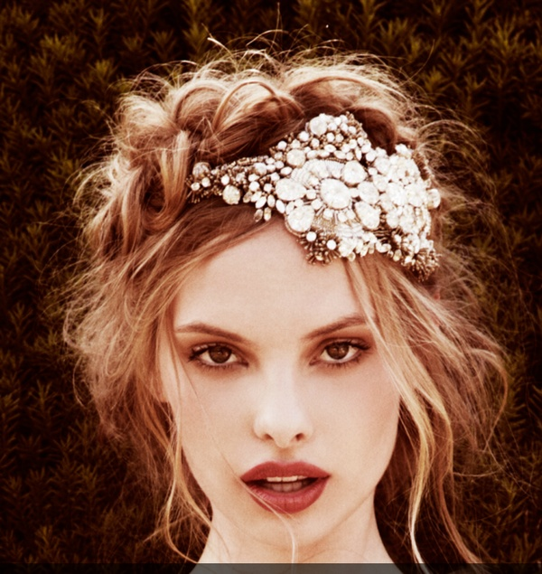 natasha wedding essentials: Vintage Bridal Hair Looks