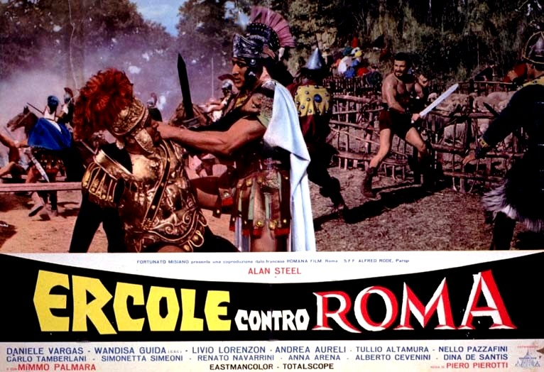 Ercole contro Roma 1964