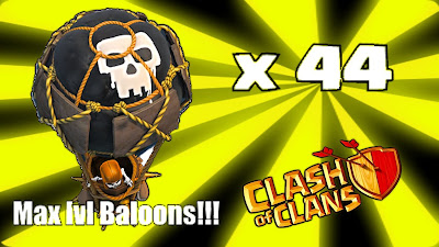 balloon clash of clans