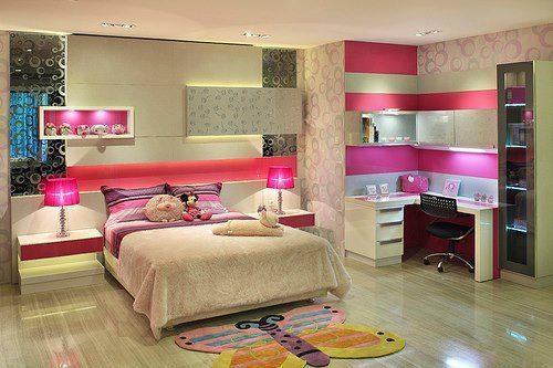 Construindo Minha Casa Clean Quarto dos Sonhos de Meninas!!! ~ Quarto Rosa De Adolecente