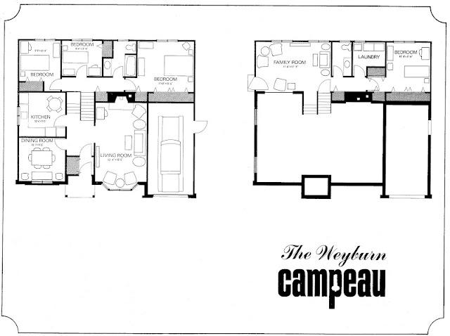 Mid century modern and 1970s era ottawa favourite plans for Backsplit house plans
