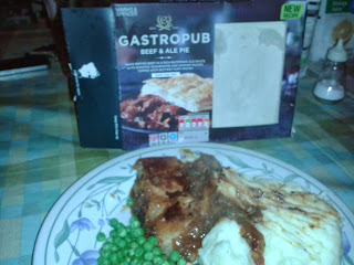 Marks and Spencer Gastro Pub Beef and Ale Pie Review
