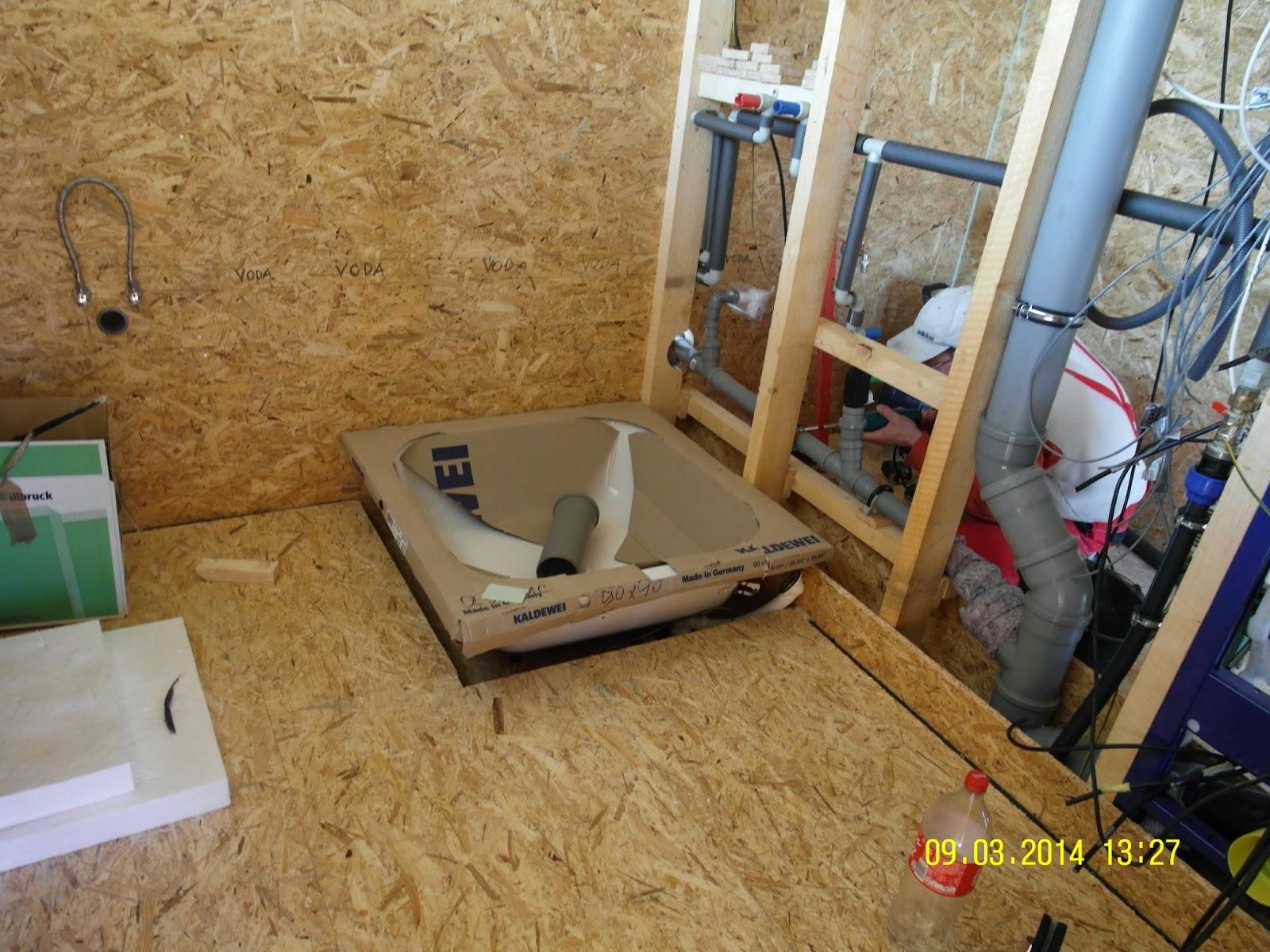 Izolace koupelny v dřevostavbě
