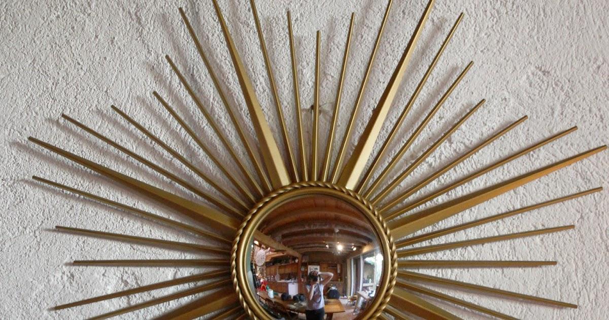 chicbaazar objets vintage 50 60 70 miroir soleil chaty vallauris sorci re. Black Bedroom Furniture Sets. Home Design Ideas