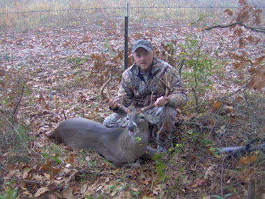 150lb, 19 1/2 inch spread, 8 point taken in red river county by dale the deer slayer carl