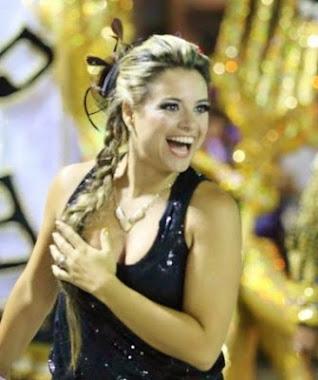 Coreografa da Vilage no Samba