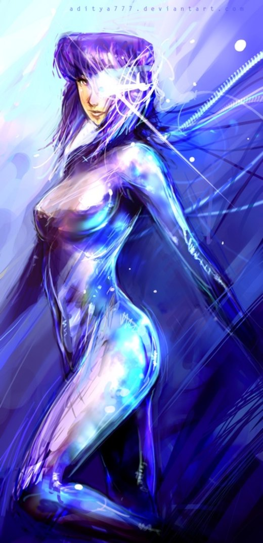 Ghost in the shell por aditya777