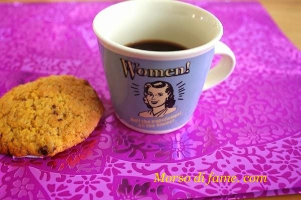 cookies di zenzero e gocce di cioccolato